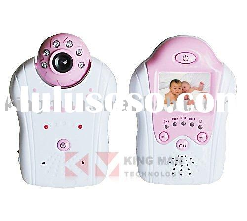 2.4GHz 4 Channels Wireless Camera Kit Digital Recolder Baby Monitor