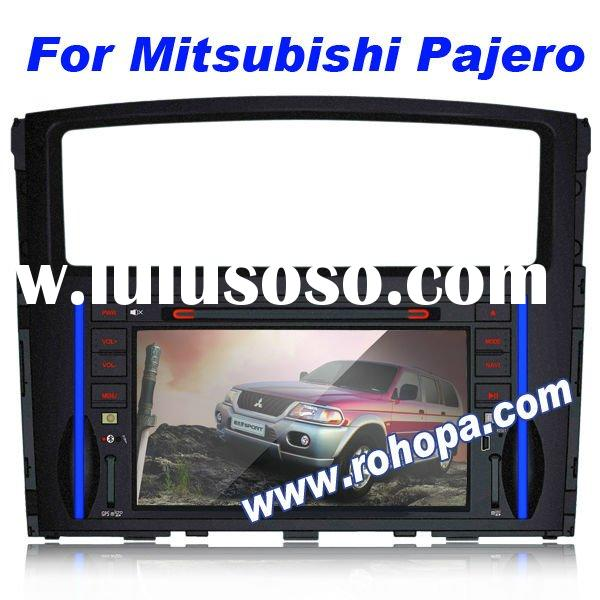 2din car dvd vcd cd mp3 mp4 player with bluetooth,gps audio navigation system for Mitsubishi Pajero