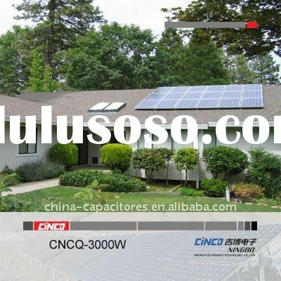 3000W Grid Connected Solar Generator, On-Grid (Grid tie) PV Solar Power System for Home Used