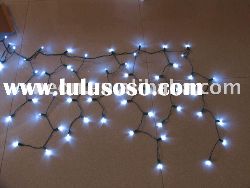 300 led icicle light--white(curtain lights,christmas led string lights)