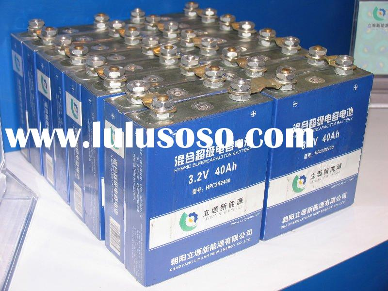 320V 200Ah Li-ion Battery Packs for Electric Vehicle(hybrid supercapacitor battery)