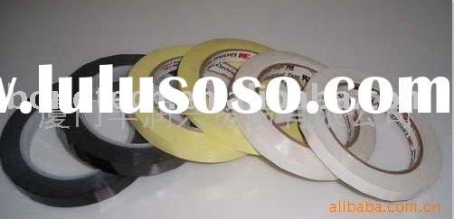 3M 1350F Flame Retardant Tape With Polyester Film and Acrylic Pressure Sensitive Adhesive