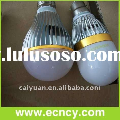 3W, 5W led bulb light E27 B22