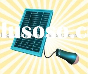 3W LED Solar Home Lighting System for indoor/LED solar lamp/ solar lantern