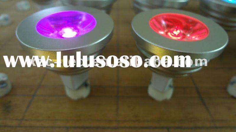 3W RGB led light with remote control