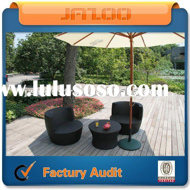 3 Piece Patio Wicker Seating Set
