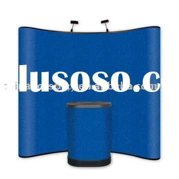 3x3 pop-up display with fabric panel,exhibition stand