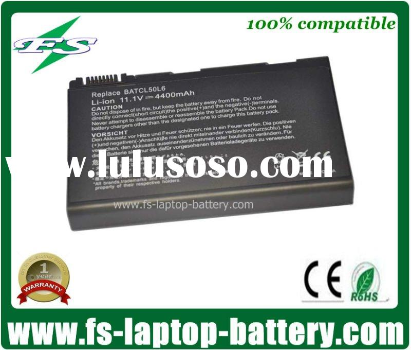 4400mAh 6 Cells Rechargeable Notebook Battery For Acer Asipire 3100 5100 5650 Series