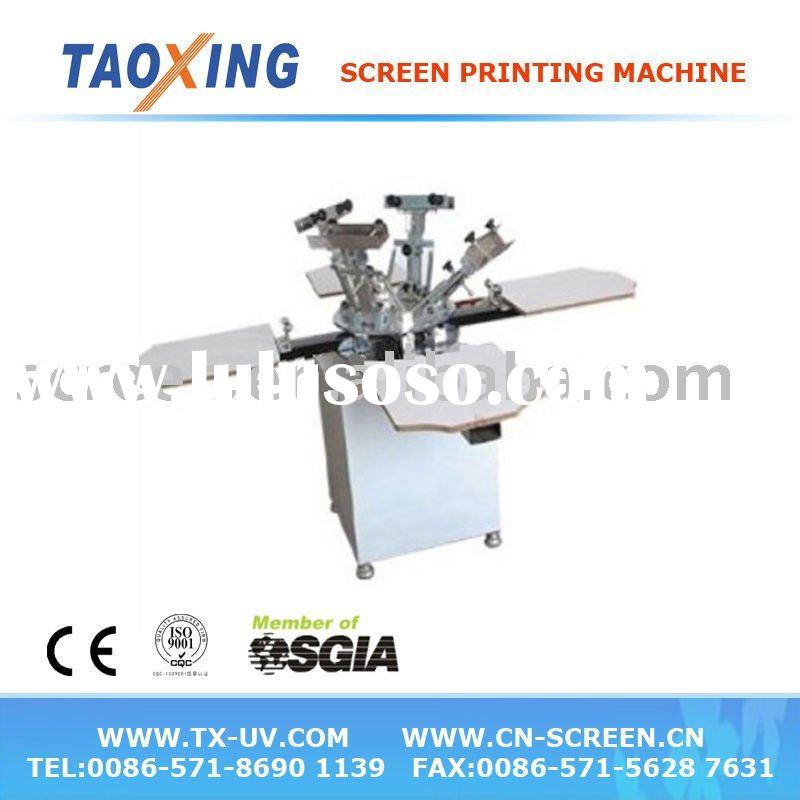 4 color clothing screen printing machine