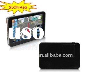 5.0 inch TFT Touch Screen Auto GPS&GLONASS Navigator Car Navigation MP3/MP4 Player French German