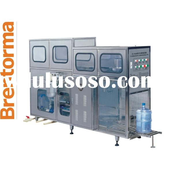 60BPH Automatic 5 or 3 Gallons Water Filling and Bottling Machine