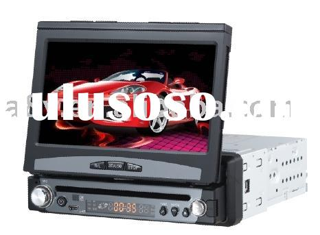 7'' In-dash Car DVD player with built-in amplifier,Built-in GPS navigation system;