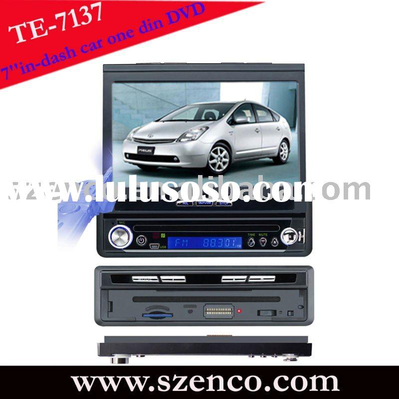 7 inch car dvd with gps navigation in dash