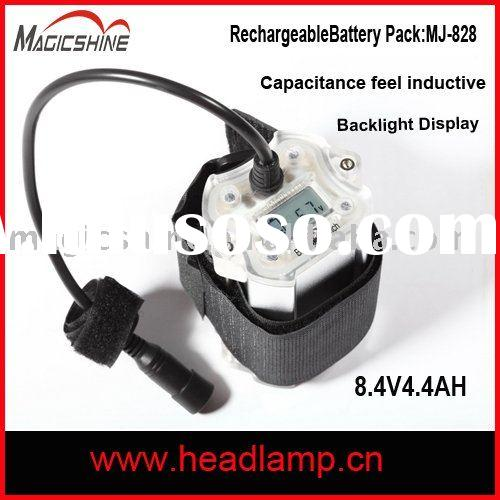 8.4V Li-ion rechargeable battery pack