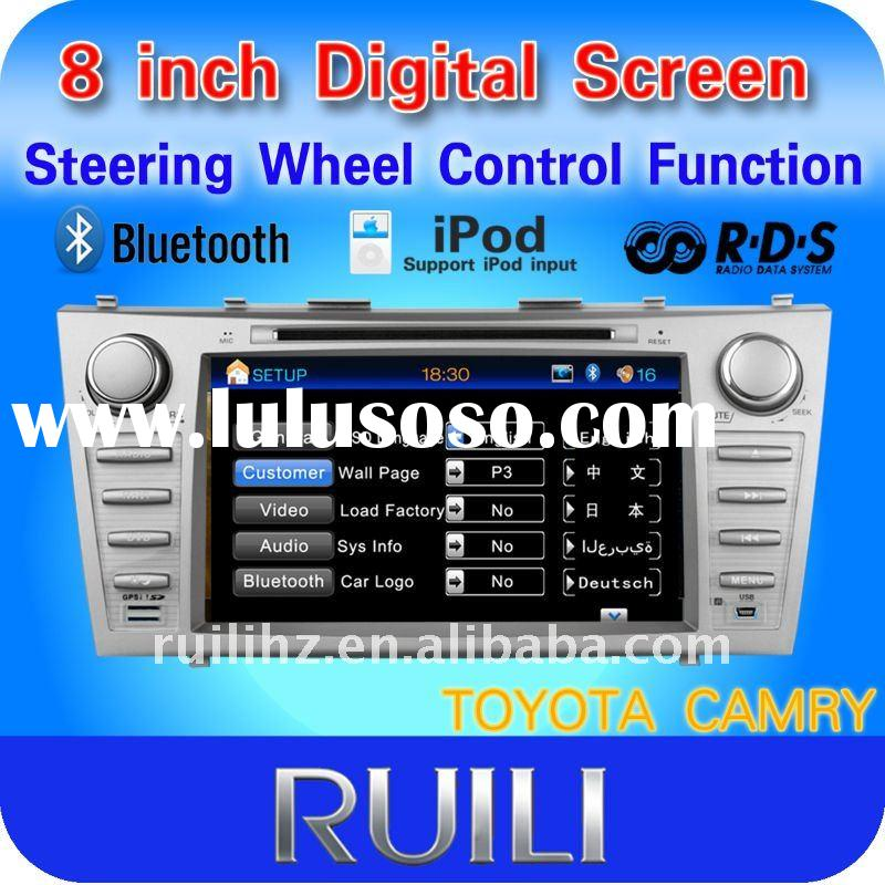 8 inch in dash car dvd player for TOYOTA Camry