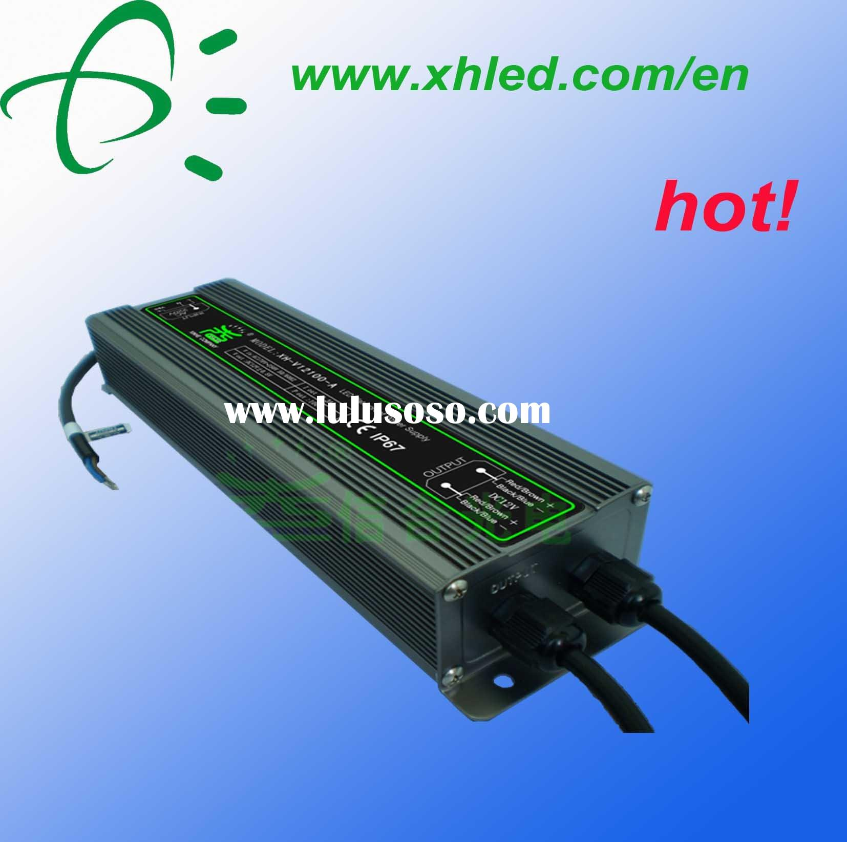 AC/DC LED constant voltage power supply (waterproof)