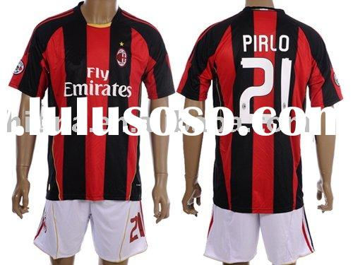 AC Milan #21 Pirlo Soccer Jersey By Paypal