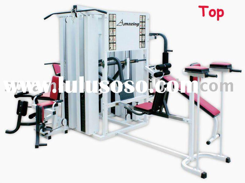 AMA-9920B 10 person Homegym/ gym equipment/10 station professional comprehensive training machine(10