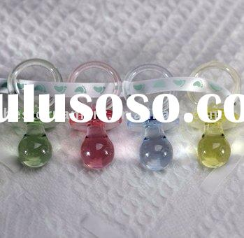 Acrylic Baby Pacifiers for baby shower decor