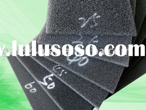 Activated carbon air filter mesh