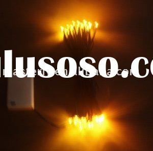 Affordable Battery Operated LED String Light:MSL02-02-Yellow