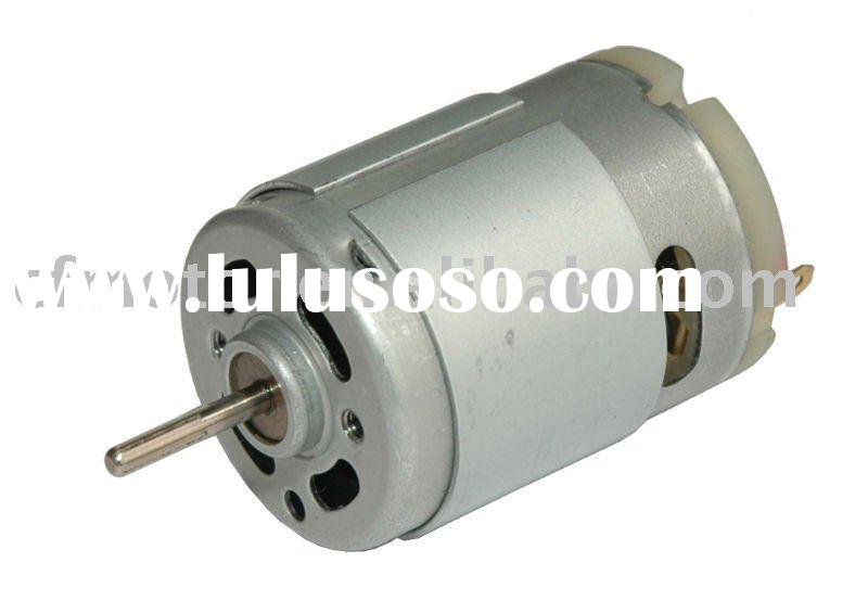 Air Pump motor RS-380PA,electric motor dc 2.4v, carbon brush motor