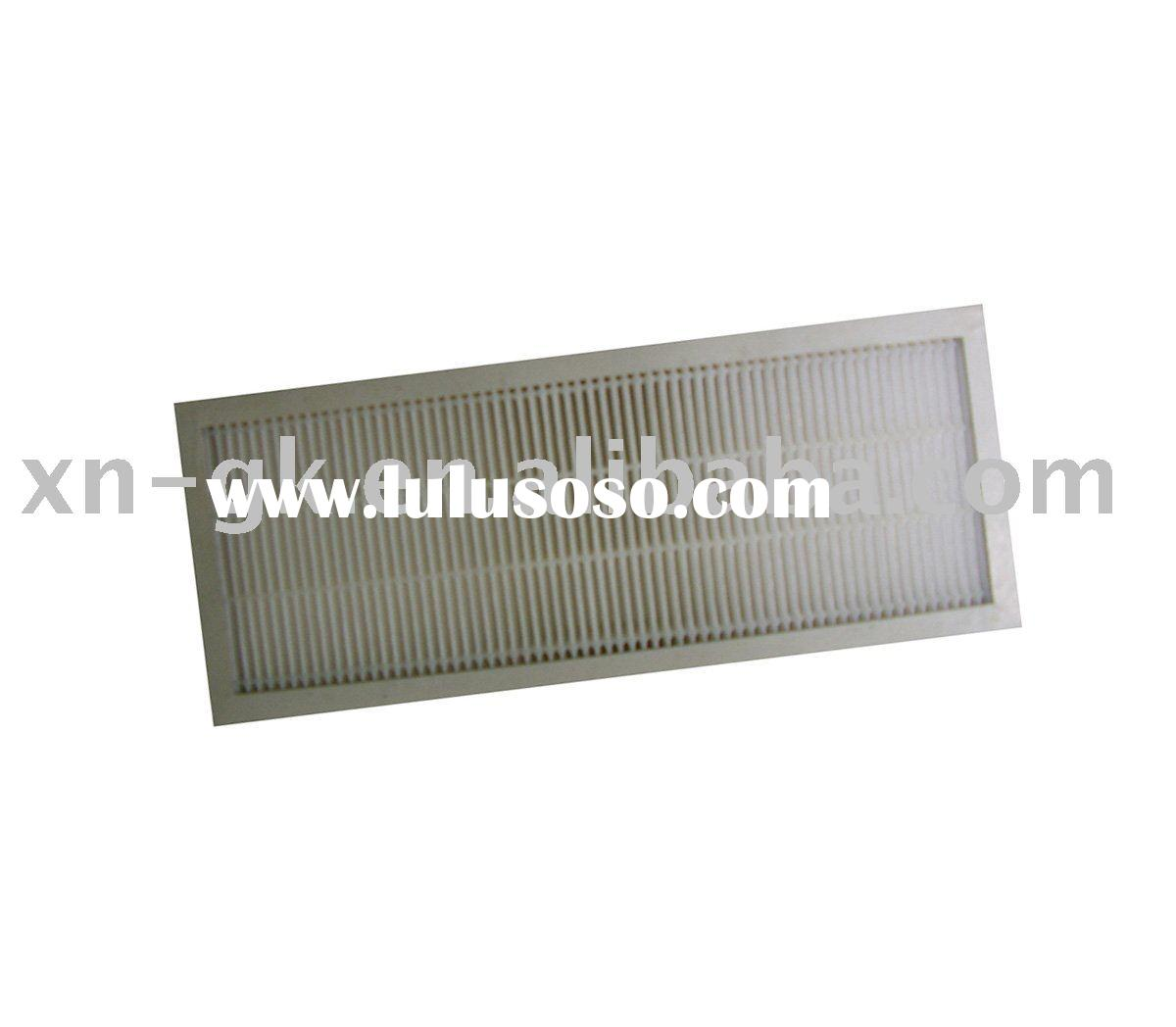 Air cleaner HEPA filter