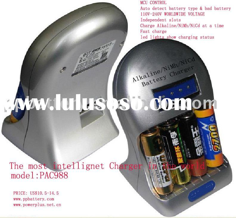 Alkaline battery charger