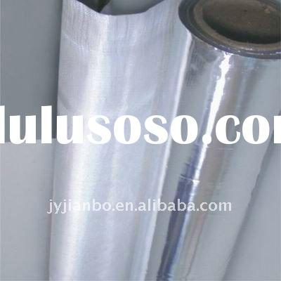 Aluminum fiberglass insulation aluminum fiberglass for Is fiberglass insulation fire resistant