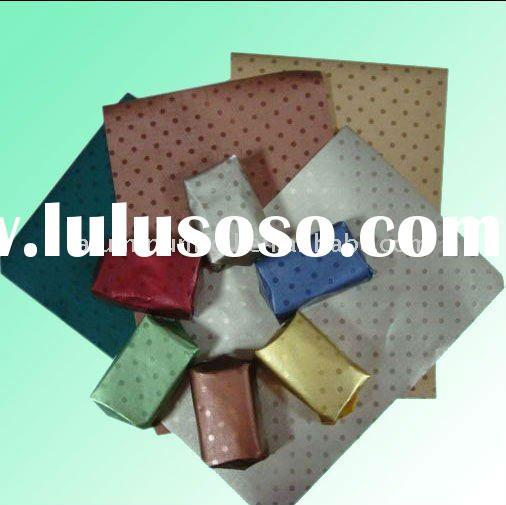 Aluminum foil paper for food packing in colorful