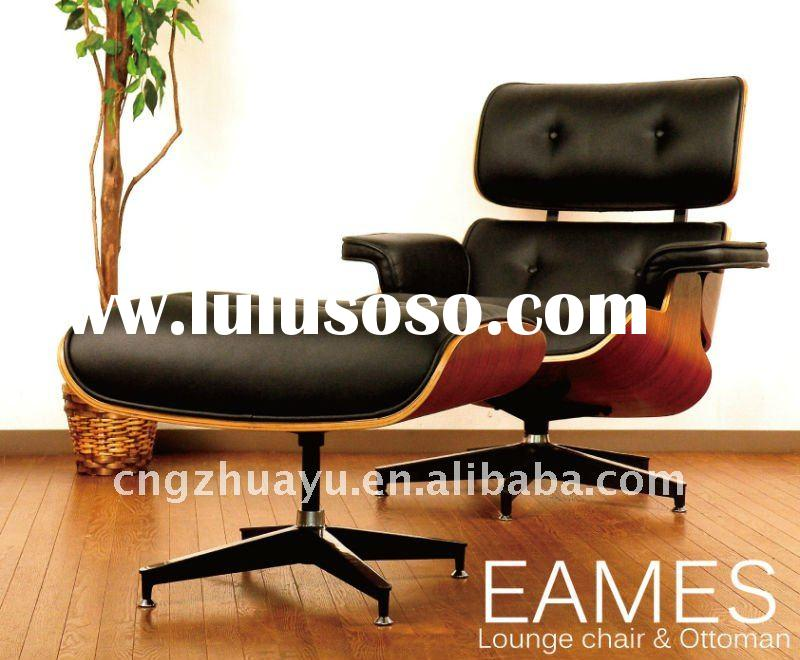 Aniline leather Eames Chair Replica