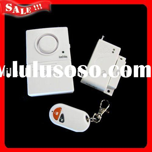 Anti theft alarm system wireless