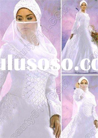 Arabic-style exquisite wedding dress, bridal dress,wedding gown, ql498