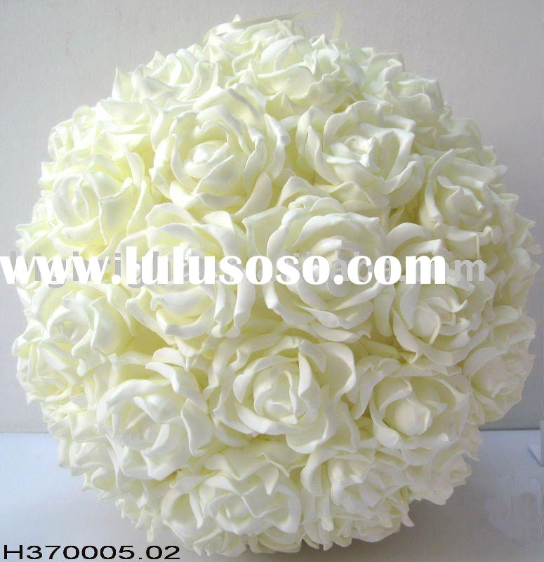 Artificial flower ball for wedding decoration