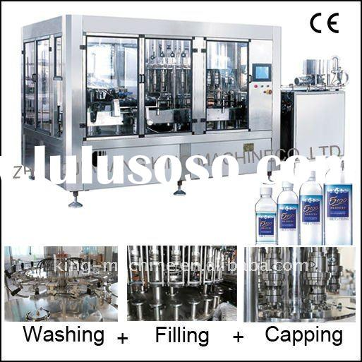 Automatic Water Bottle Washing Filling Capping 3 in 1 Machine