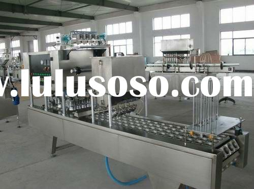 Automatic yogurt cup filling machine