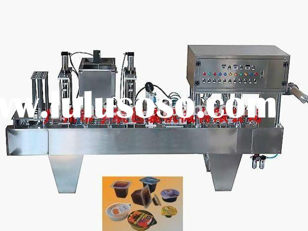 BG60A-6 Full-automatic Plastic Cup Filling and Sealing Machine