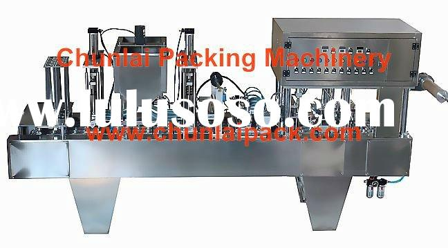 BG60A-8C Automatic Yogurt Filling cutting Sealing Machine