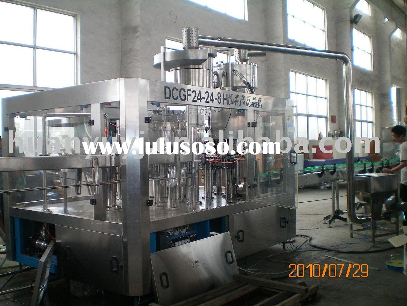 Balanced Pressure Filling and Capping Machine 3-In-1 Unit