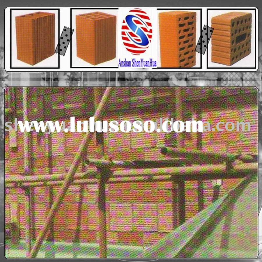 Bearing and Non-Load-bearing Fired Shale Hollow Brick Wall