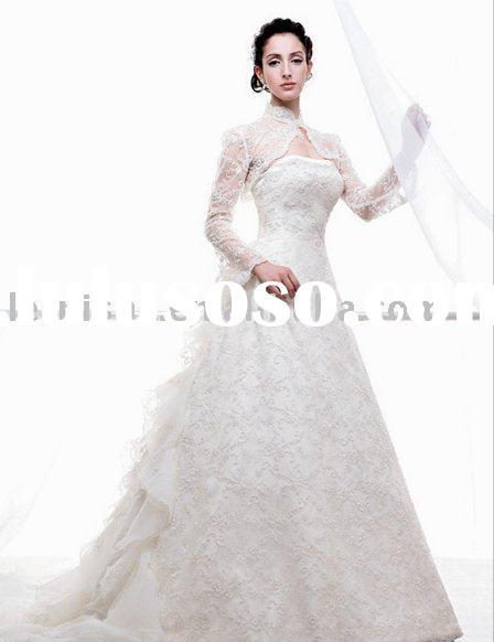 Beautiful Wedding Dress With Long Sleeves