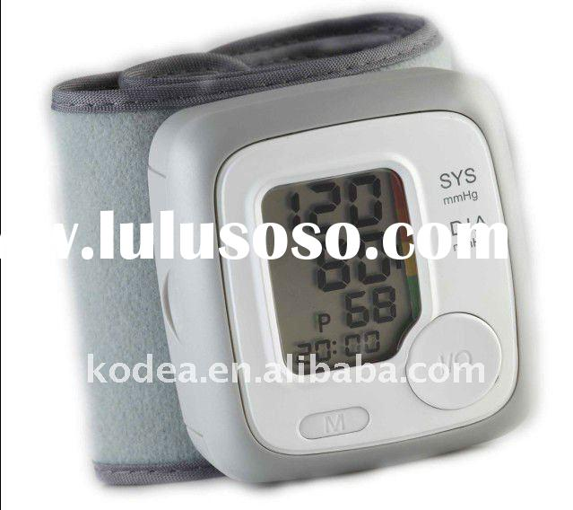 Big LCD, wrist blood pressure monitor