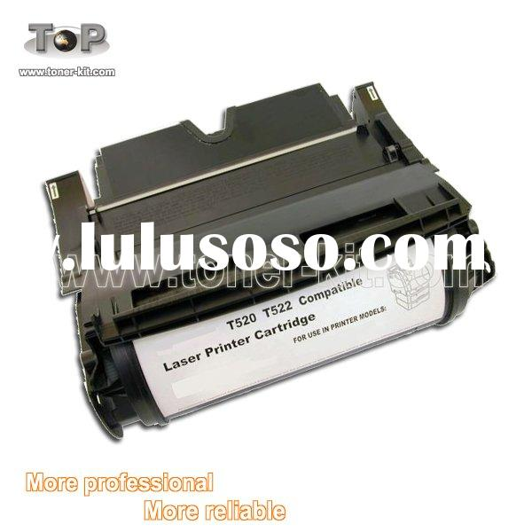Black High Yield Toner Cartridge for Lexmark T520 Laser Toner Printer