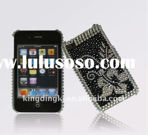Bling Bling Crystal Back Cover for Apple iPhone 4(Butterfly)
