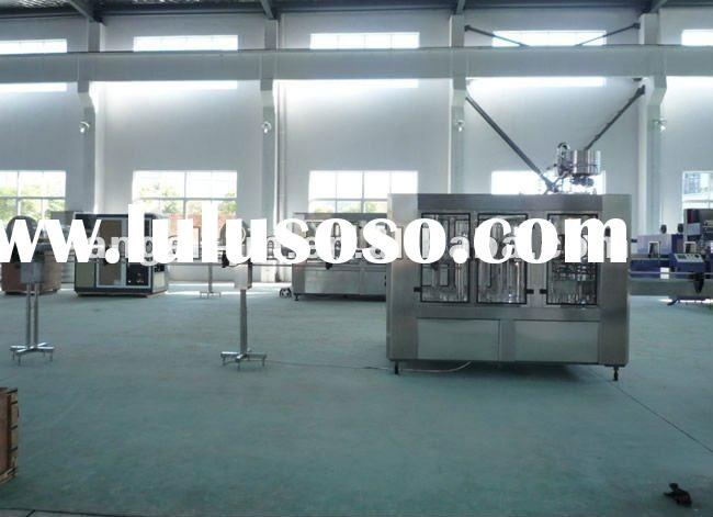 Bottled water plant/fully automatic mineral water plant/PET bottled purified water production line