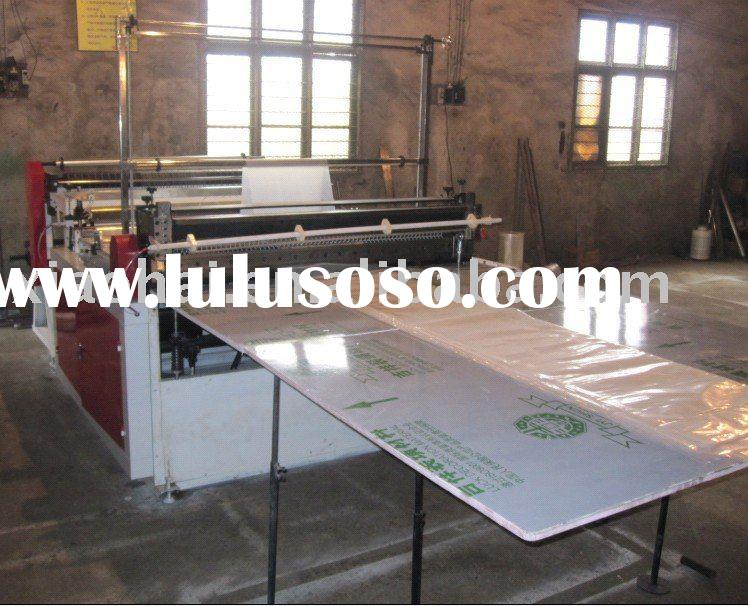 Buttom sealing bag making machine