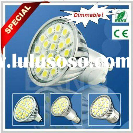 CE&Rohs Approved 4W Dimmable GU10 SMD LED Spotlight Bulb