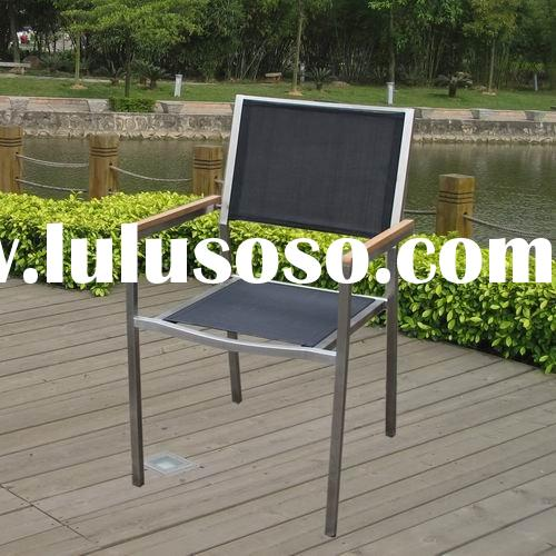 CHC-3 mesh fabric dining chair stainless steel furniture