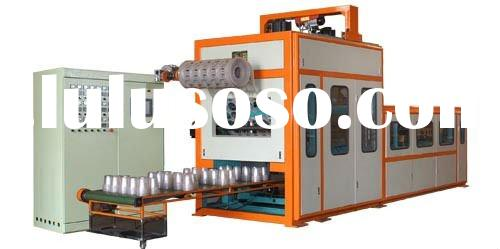 CJD-720 Automatic Forming-Cutting-Stacking High Speed Thermoforming Plastic Cup Making Machine