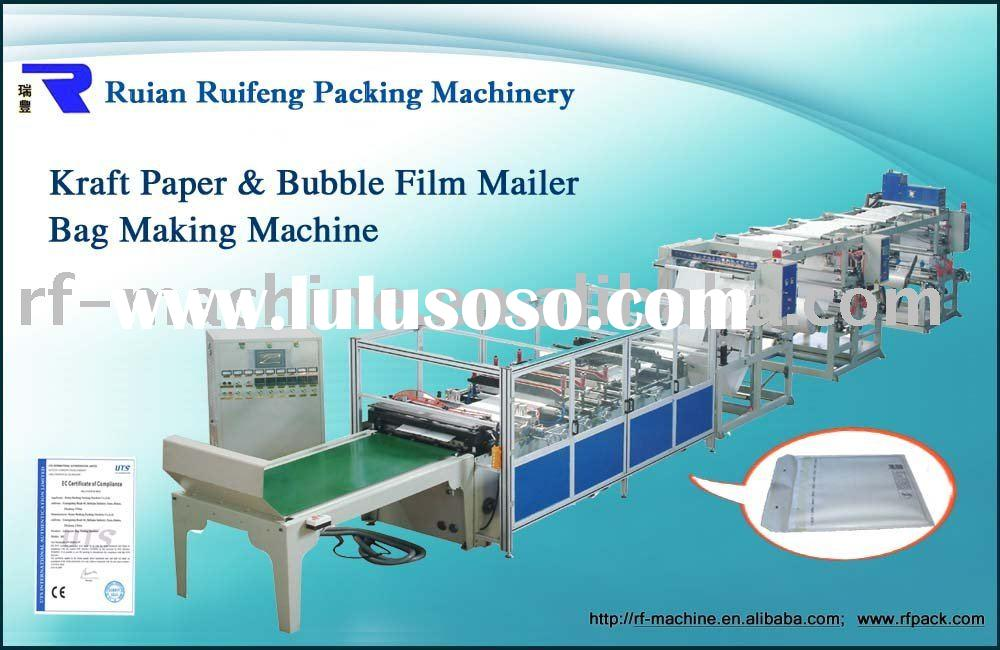 C-DISQ-700B 3 Side Sealing Kraft Paper Bubble Mailer bag Making Machine